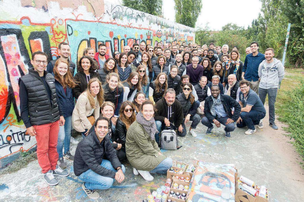 Team building activity in Berlin