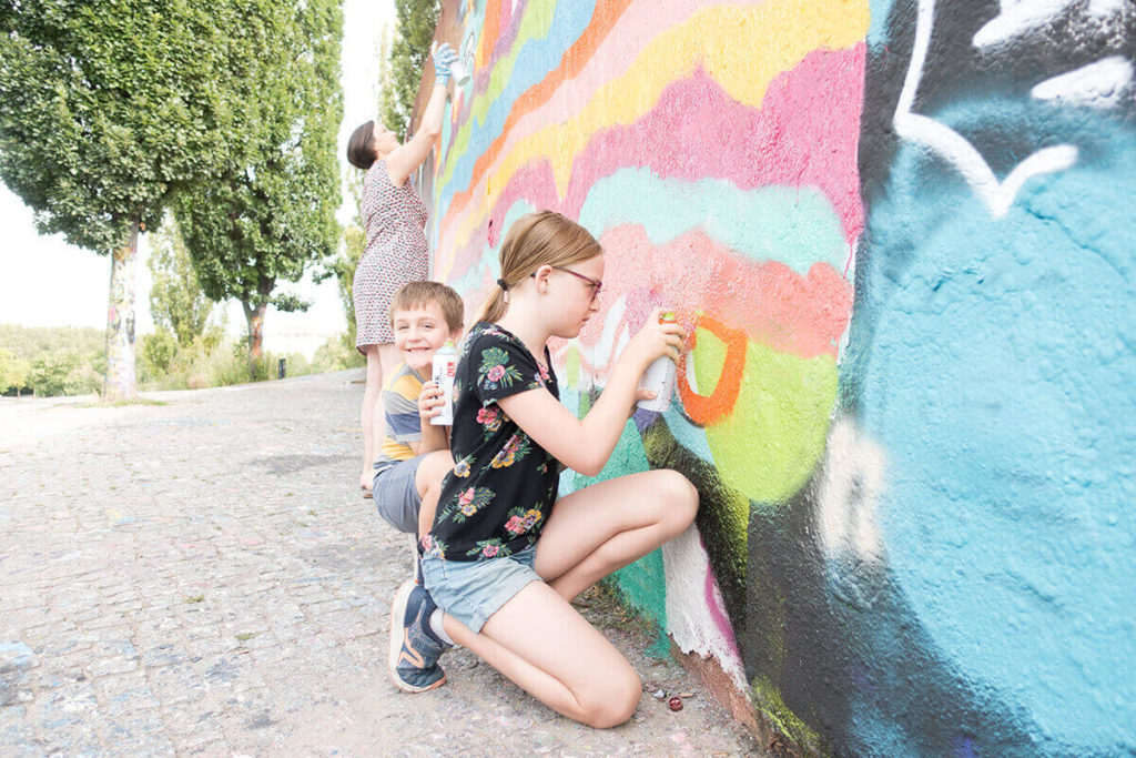 One unique event for you: Our kid's Graffiti birthday in Berlin