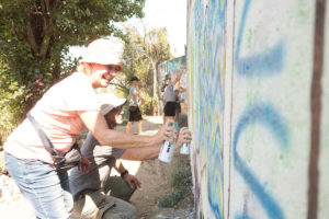 Paint your first Graffiti workshop in Berlin