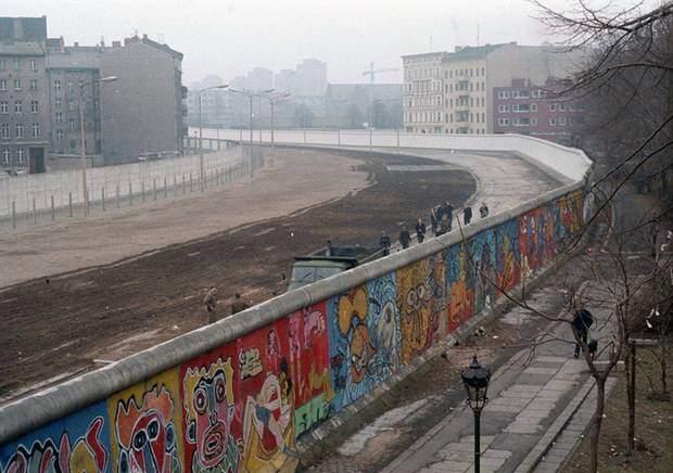 The Berlin wall and street-art – Graffiti and the symbolic Berlin Wall