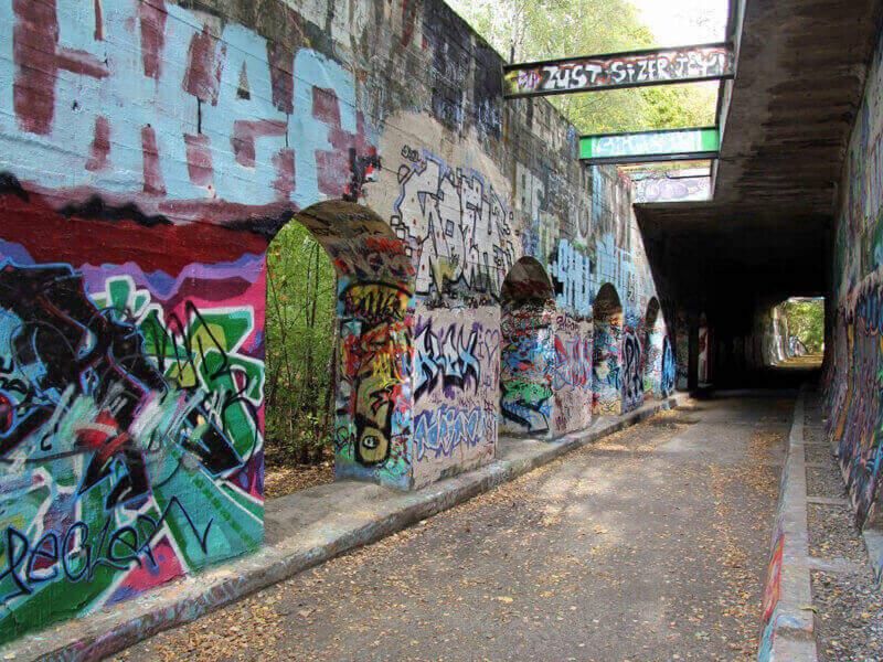Where can I do Graffiti in Berlin?